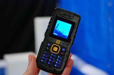 JCB Tradesman, Ponsel Tahan Air, Tahan Banting